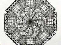 Art: Zentangle Coloring