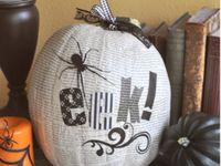 fall/halloween craft ideas