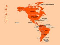 The Americas also known as the New World, are the combined continental landmasses of North America and South America, in the Western Hemisphere. Humans first settled the Americas from Asia between 40,000 BCE and 15,000 BCE. Mass emigration from Europe, including large numbers of indentured servants, and forced immigration of African slaves largely replaced the Indigenous Peoples. Currently, almost all of the population of the Americas resides in independent countries.
