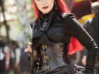 Victorian, neo victorian, gothic fashion, Gothic Lolita, dark style inspirations and black steampunk.