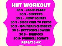 Hit workouts