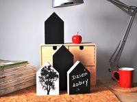 Drewniane domki / Dekoracje z drewna