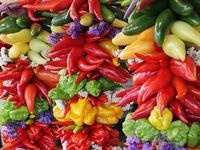 Spicy peppers:()