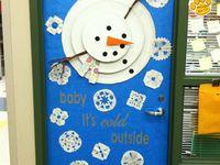Anaokulu kapı süsleri