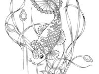 melodie the music fairy coloring pages   91 Best colouring in for adults images in 2019   Adult ...