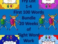 School Stuff - Sight words/Reading