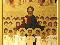 Icons of the Catholic, Russian and Greek Orthodox rite.