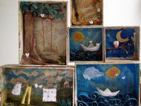 ArtEd- Shadow Boxes, Dioramas
