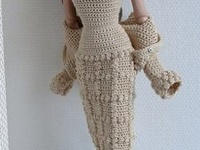 Both knitting and crochet for Barbie size dolls