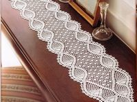 Free Crochet Patterns For Dresser Scarves : 8 best images about Crocheted dresser scarves on Pinterest ...