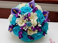 Catalina's turquoise wedding ideas