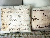pillows to make, buy and collect