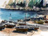 Devon landscapes / A lot of our artists use the scenic Devon landscape as inspiration for their art work...
