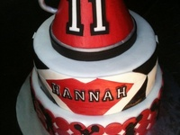 Cheerleading/Dance cakes