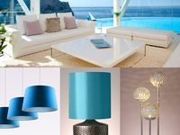 Harmony by the Sea / What can be more beautiful in life than gazing to the ocean, while the waves whisper to our ears and the tropical breeze drifts us further onto a summer dreams? Never waste any minutes of your life in this paradise and feel the harmony of living by the sea completely with our collection of lightings and matching home decorations.