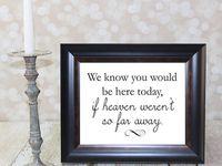 wedding memory table