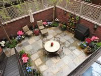 17 Best images about Townhouse Backyard Ideas on Pinterest ... on Townhouse Patio Ideas id=98318