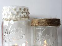 Main Jars.... My Love of Mason Jars