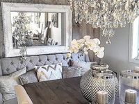 96 Best Images About Home Rustic Glam Decor On Pinterest Arabesque Tile Lighting And Gray
