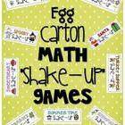 10+ [Math-Egg Carton Games!] ideas   math, egg carton, math centers