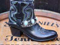 Sendra 13594 Debora NL Cowboylaarzen Rood Zwart – Sendra
