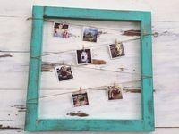 Pele Mele Photo Cadre Vintage Corail Rose Idee Fete Des Meres Gifi Deco Deco Recup