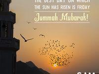 Jummah Mubarak Facebook post images