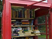 Los libros suelen estar en las bibliotecas y en las librerías, pero hemos descubierto que hay muchos más sitios donde viven. Los descubrimos?