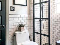 Bathroom - tile styles & tiles/wall colours