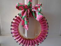 camo wreath