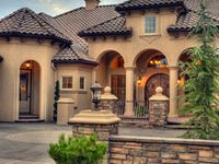 17 best images about tuscan house on pinterest brown for Tuscan home exterior colors