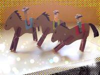Paarden / Paarden knutselen, tekenen,