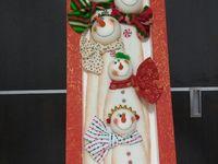 muñecos y decoracion navidad