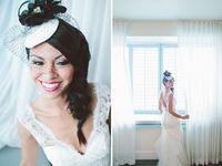 veils + hair accessories