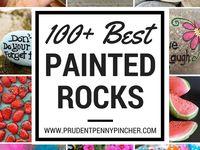 100 painted rocks