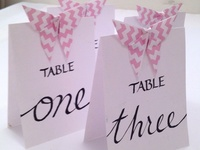 origami wedding idea