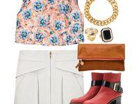 Closet Ideas- Skirt Looks