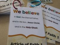 I am a member of the Church of Jesus Christ of Latter Day Saints and this is just a snip-it of what we believe and how we live! I have a testimony of this gospel and it is an essential part of my life!