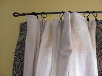 Drop Cloth Drapes