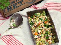 salades on Pinterest | Feta, Tagliatelle and Chickpea Salad