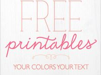 paper and printables