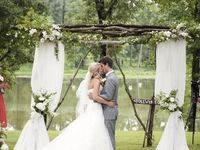 The decorative florals that enhance the look and feel of your big day!