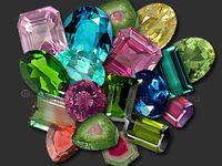Gems, minerals, and quartz