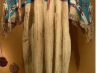 Native American Clothes And Moccasins