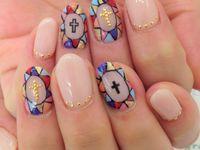 Cross Nail Designs
