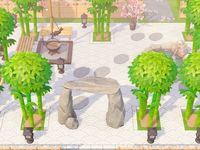 20+ ACNH Zen Garden ideas in 2020 | animal crossing game ...