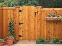 wood Gate And Fencing Ideas