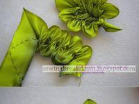 Bordado cinta de seda