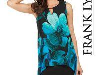 Frank Lyman Design Fall 2017 / Women's luxury high fashion dresses, tunics, jackets, cocktail and evening dresses.