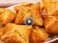 empanadas/ Bladerdeeghapjes/muffins